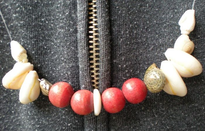 necklaces at Ohop Indian Village